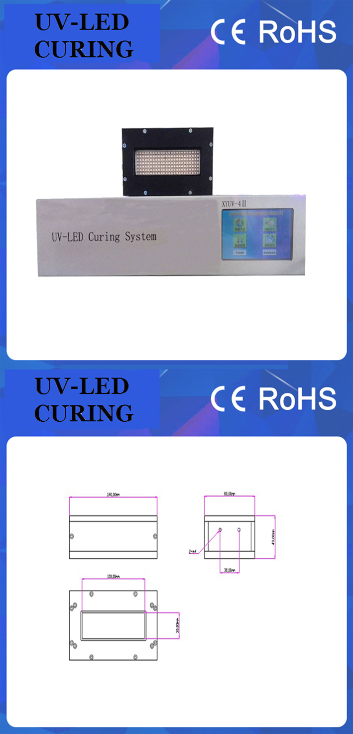 2000w UV LED Curing System