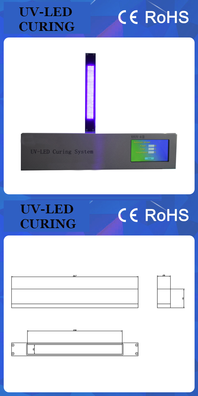 395nm Paint LED UV Curing System
