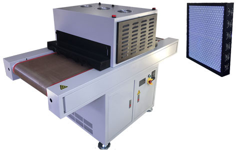 Large Area Curing LED UV Conveyor Machine