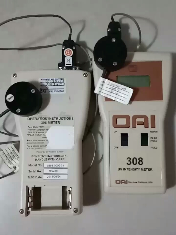 OAI 308 UV Power Meter
