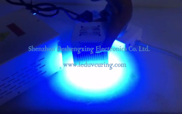 Circular High Power Ultraviolet LED Curing Lamp Solidifying UV Glue Ink Coatings