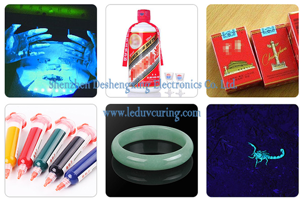 395nm High Energy UV Curing Lamp Ultraviolet Torch Light