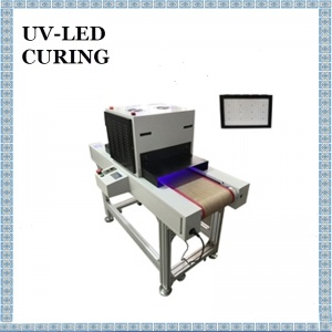 Vertical UV Curing System